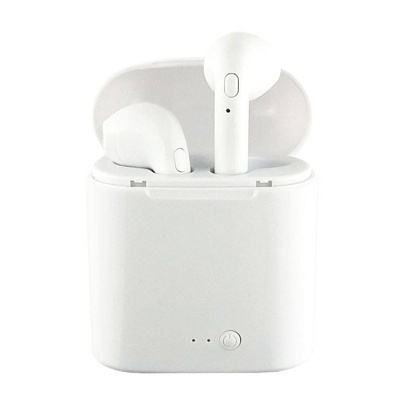 WPAIER I7S TWS Bluetooth casque Portable sans fil écouteurs avec boîte de charge mini bluetooth casques universels type TWS