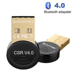 Suntrsi USB Bluetooth 4.0 Adapte pour PC ou ordinateur portable Sans Fil Bluetooth Dongle Musique Son Récepteur Adaptateur Bluetooth Émetteur