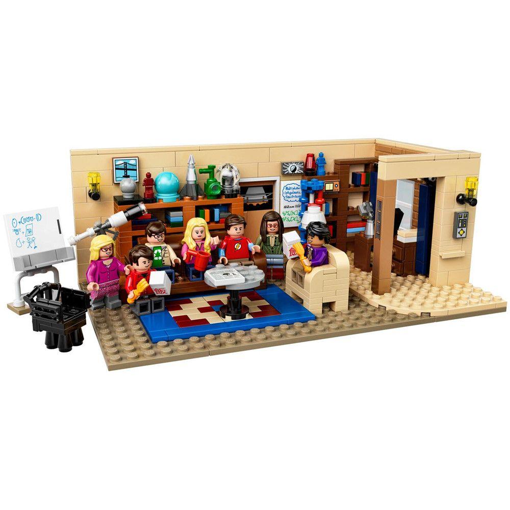 IDEAS The Big Bang Theory Building Blocks Set Bricks Classic Movie Creator City Model Kids Toys Gift Compatible Legoe