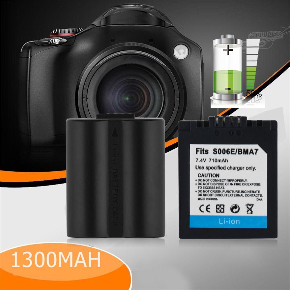 Nueva dmw-bma7/s006 Cámaras de vídeo Baterías para cámara para Panasonic cga-s006e/s006 dmc-fz8 dmc-fz18 fz30 dmc-fz38 FZ 710 Mah