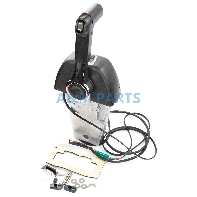 Outboard Binnacle Remote Control Box for YAMAHA Marine Boat Engine Binnacle/Console Mount 704 Single Control