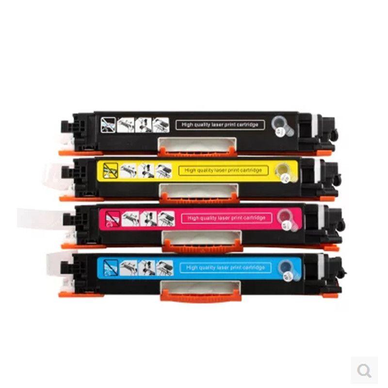 Cartouche de Toner couleur Compatible CE310 CE310A-313A 126A 126 pour imprimante HP LaserJet Pro CP1025 M275 100 couleur MFP M175a M175nw