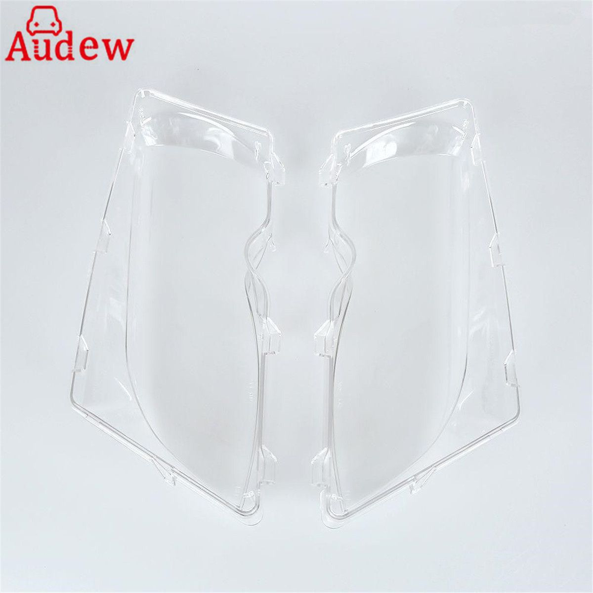 2 Pcs Car Lights Headlight Shell  Lamp Cover Glass Replacement Lens For BMW E46 318i/320i/ 325i/ 325xi/ 330i/330xi (2002-2005)