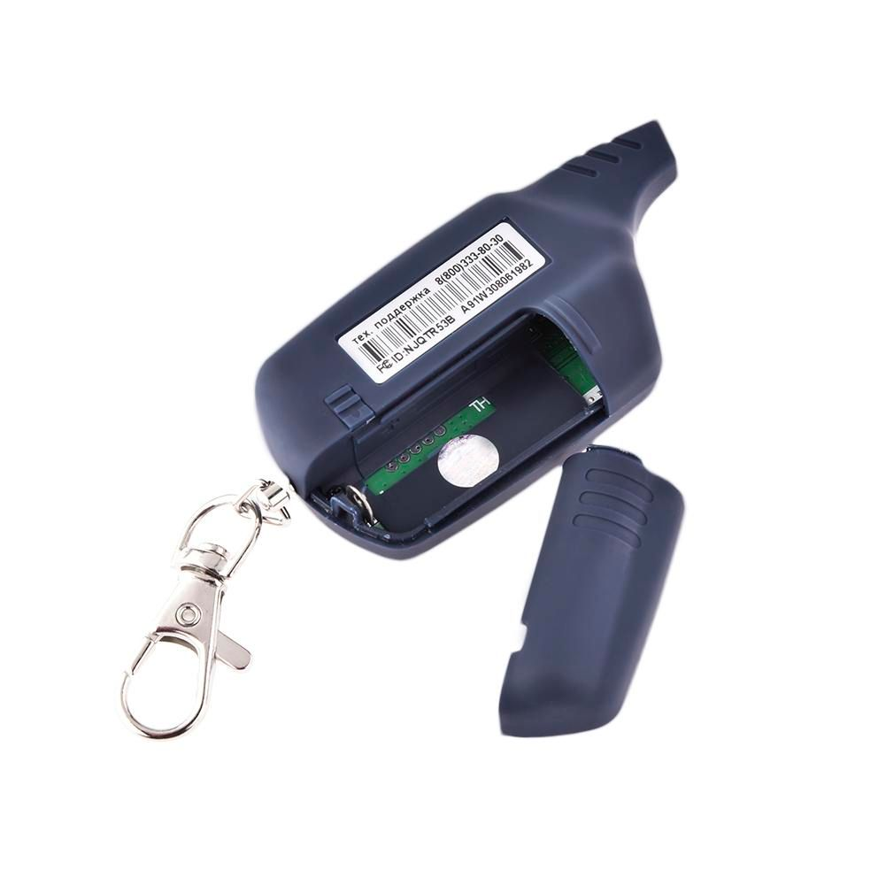 100% original 2-way A91 LCD Remote Controller Key for StarLine A91 two way car alarm system Russian 2-way alarm auto-start