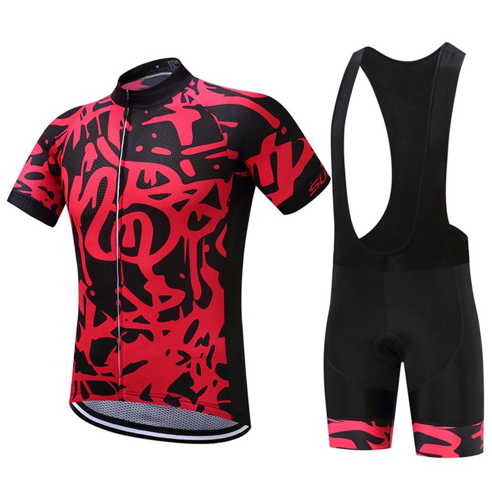 FUALRNY Rafael Pro Summer Cycling Jerseys Set Mountain Bicycle Clothing Maillot Ropa Ciclismo Racing Bike Clothes Sportswear