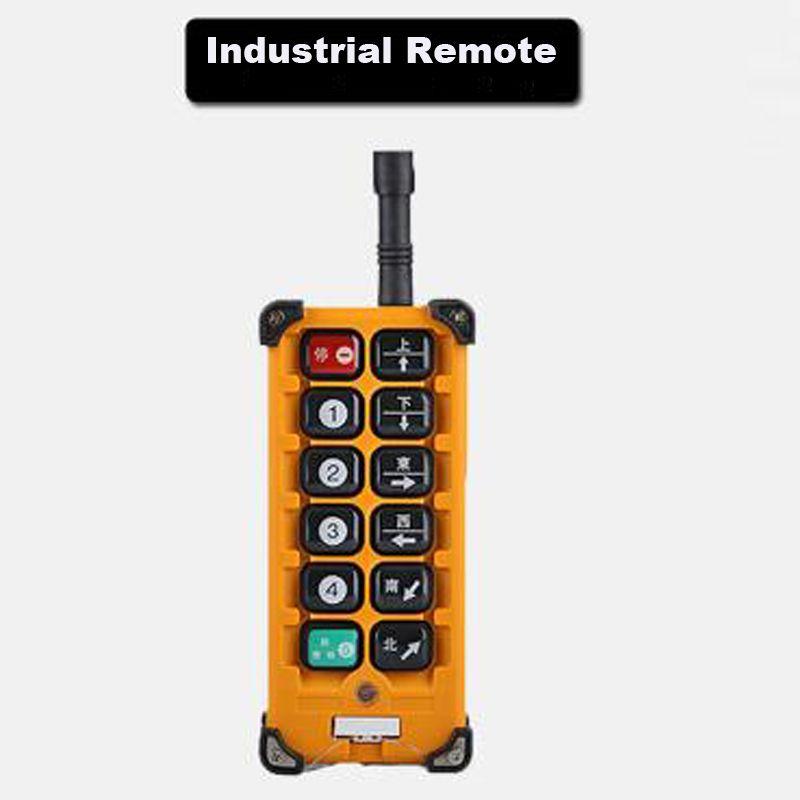 Quality Assurance Radio Remote Control F23-A Industrial Remote Control Hoist Crane Push Button Switch 1 Transmitter