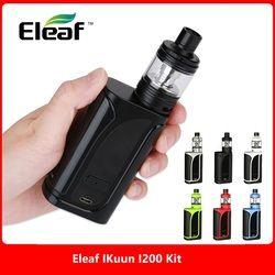 Original 200W Eleaf IKuun I200/ ikuu i200 Vape Kit w/ MELO 4 Atomizer 4.5ml & 4600mAh Battery Box Mod e cig vs Drag 2/ Luxe Kit