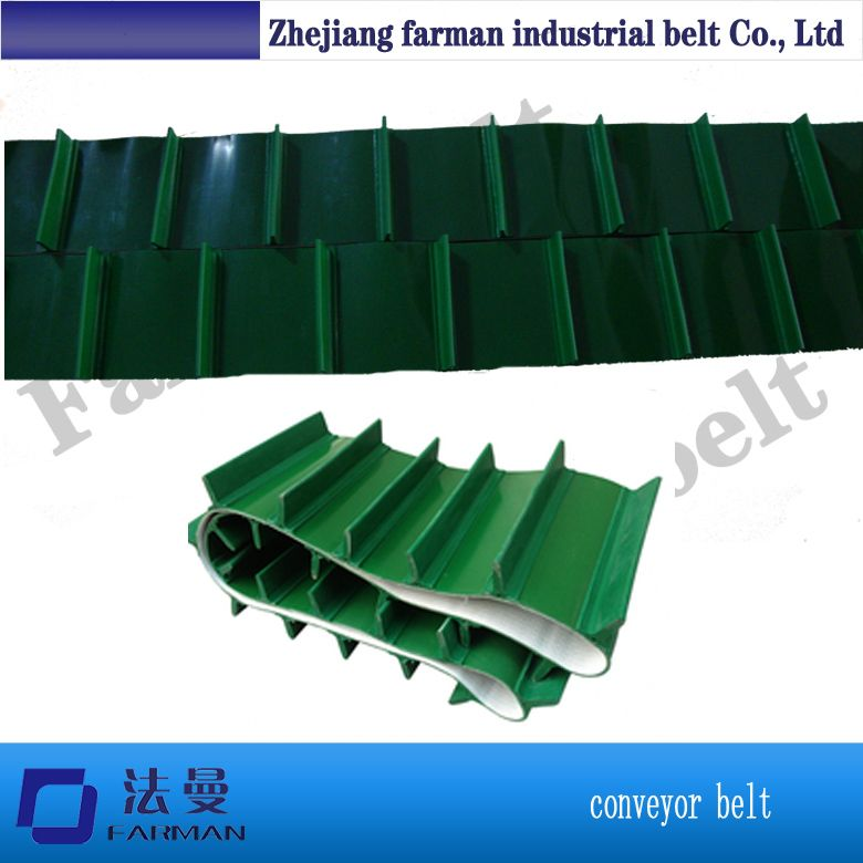 Custom Pvc Cleat Conveyor Belt With Factory Price