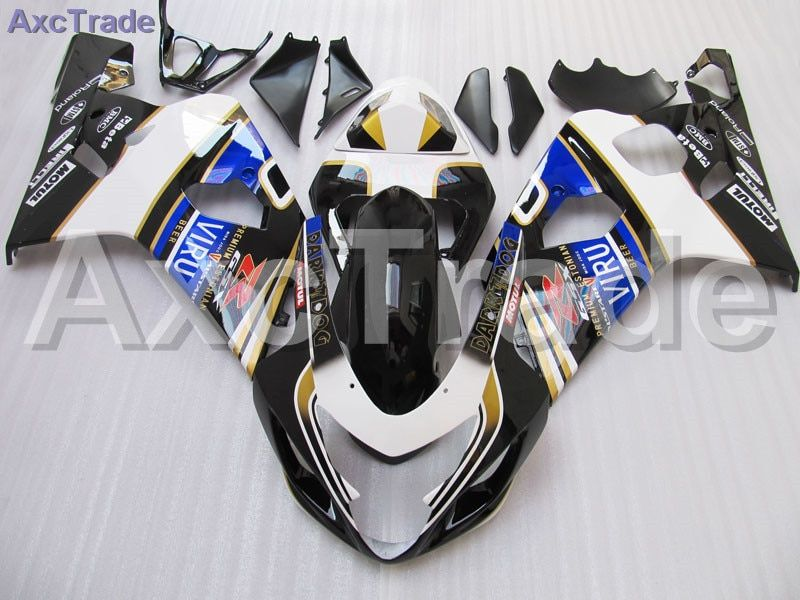 Motorcycle Fairing Kit For Suzuki GSXR GSX-R 600 750 GSXR600 GSXR750 2004 2005 K4 04 05 Fairings kit High Quality ABS Plastic