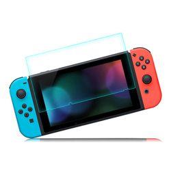 2 piezas vidrio templado Ultra Clear pantalla Full HD Protector de superficie de película protectora para Nintendo Switch NS consola Protector piel