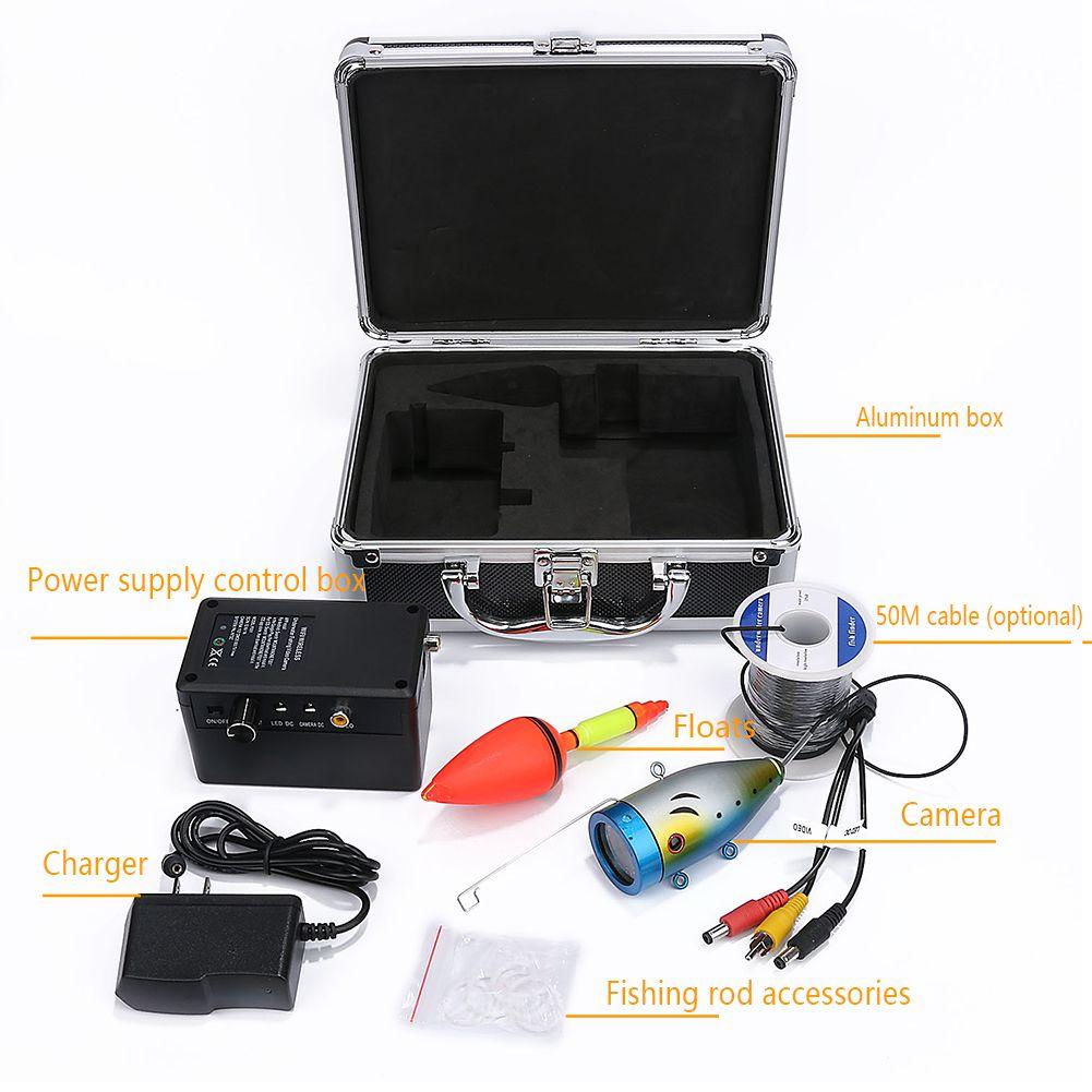 2.4G WIFI Wireless Fish Finder Waterproof DVR Video Recording 7