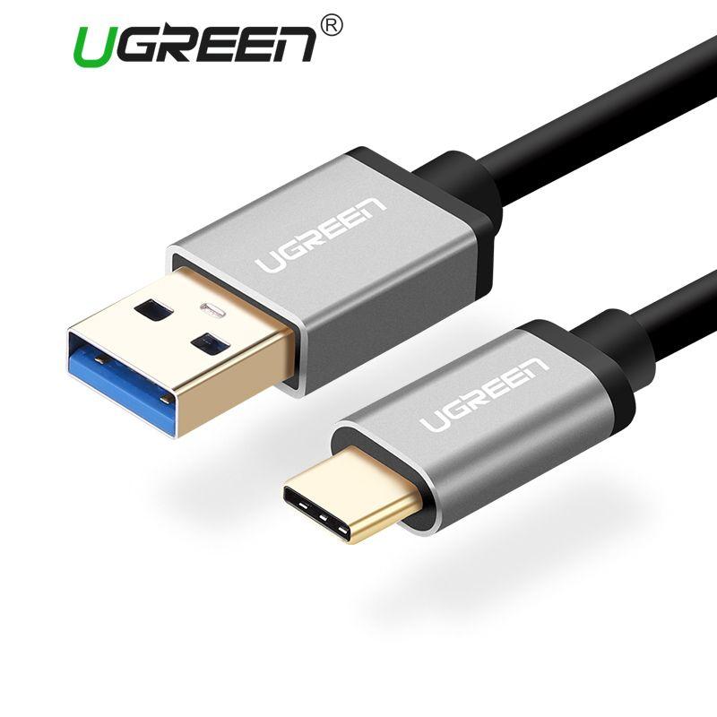 Ugreen USB 3.0 Typ C Kabel für Xiaomi 4C 2.4A USB Typ C schnelle Ladegerät Handy Kabel für LG Nexus 5x Huawei Oneplus USB C