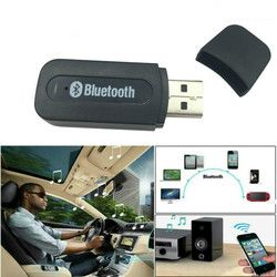 USB Bluetooth Aux Wireless Portable Mini Car Bluetooth Music mp3 Audio Receiver Adapter 3.5mm Stereo for iPhone Android phones