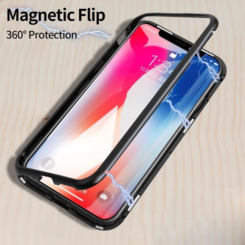 Metal magnetic flip for XiaoMi