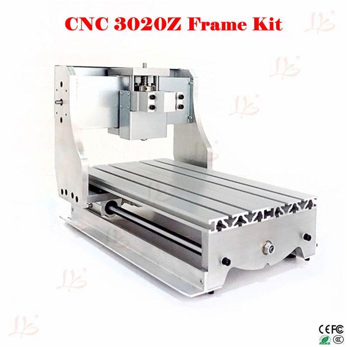 Freies Verschiffen & Freies Steuer Zu Russische! CNC 3020 mini cnc rahmen für 3020 cnc gravur maschine DIY drehmaschine