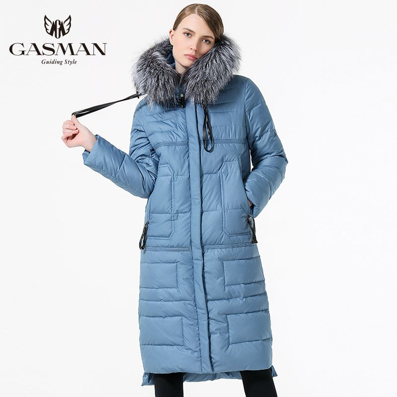 2017 Women Winter long Coat Woman Down Parka Fashion Windproof Thickening Bio Down Jacket With Real Fur Plus Size 5XL 6XL