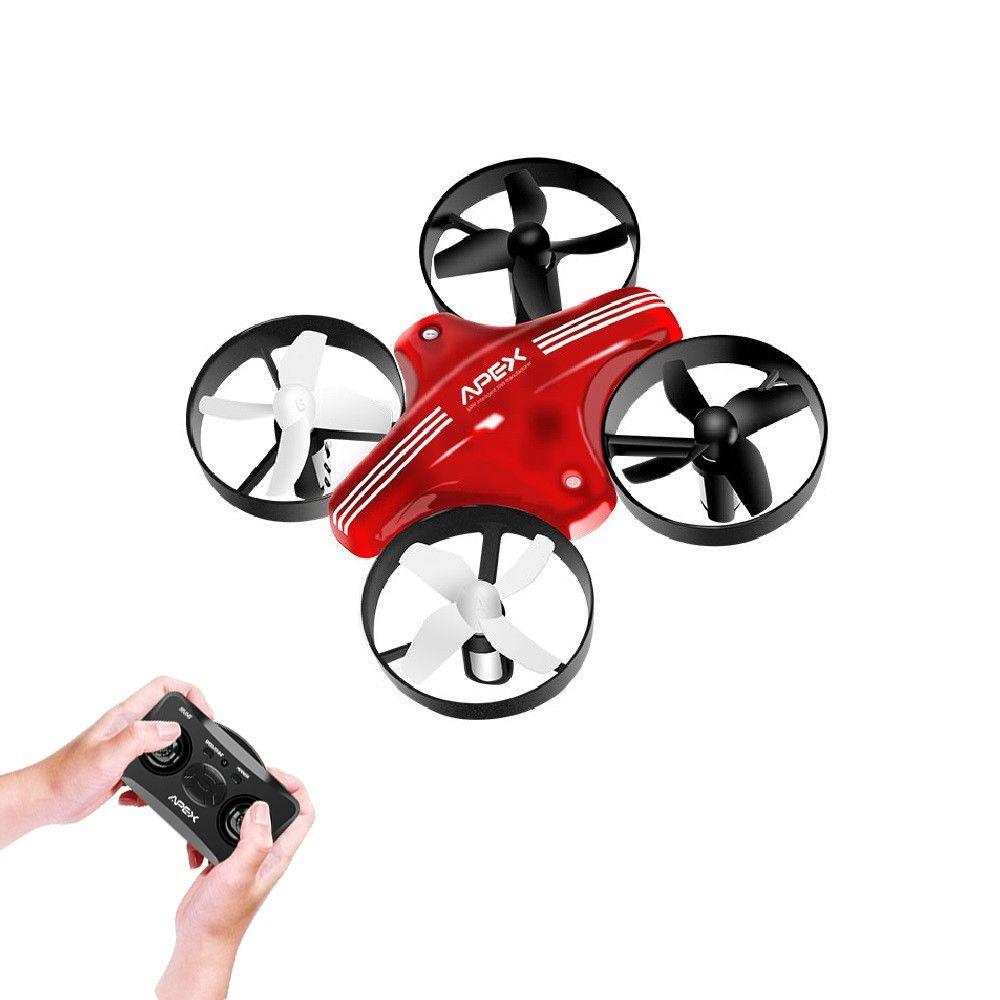 Mini Drone de course RC quadrirotor APEX Mode sans tête avec Altitude de maintien quadricoptère RC télécommande avion jouets Dron