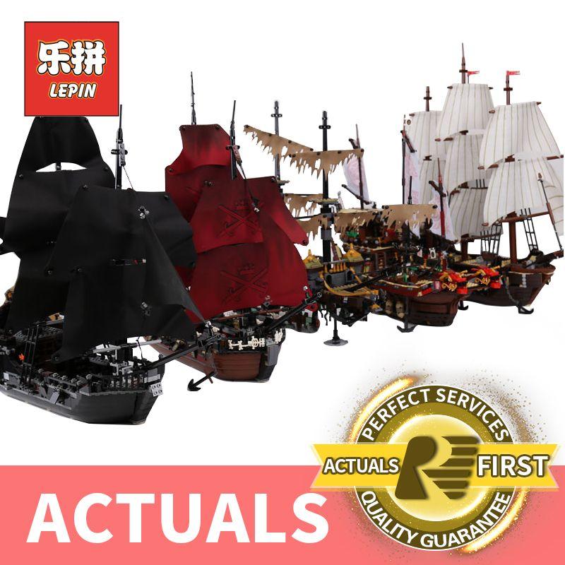 Лепин Пираты Карибского моря 16006 16009 черный жемчуг корабль 16016 22001 06057 legoinglys 4195 70618 Строительный набор сделай сам блоки