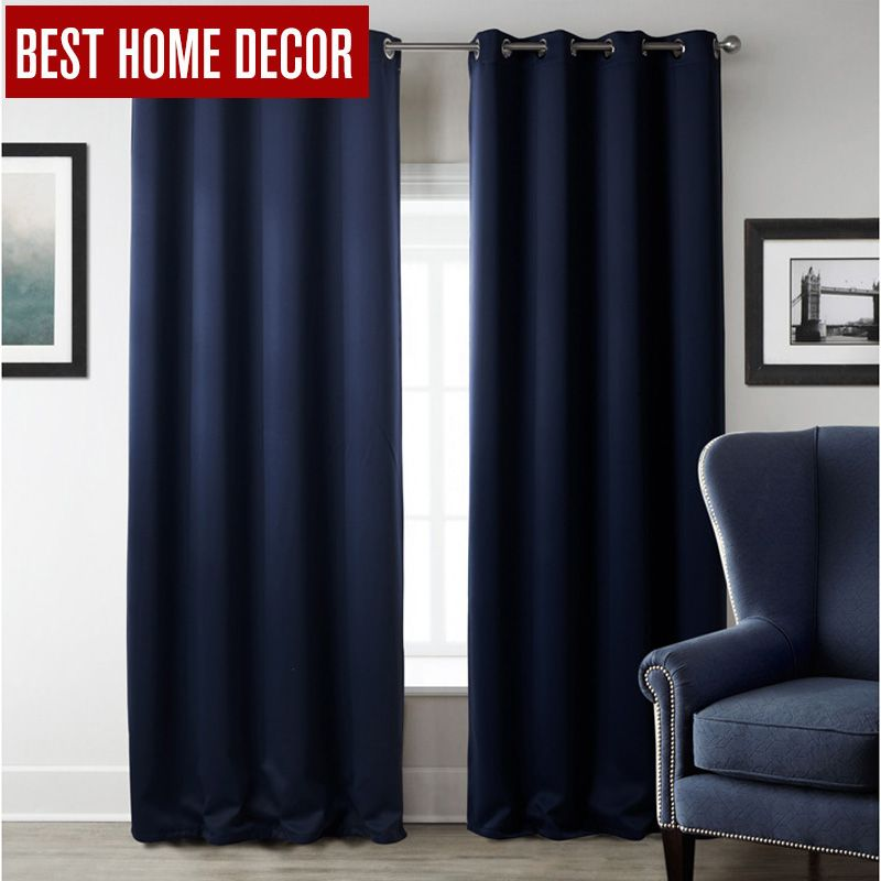 <font><b>Modern</b></font> blackout curtains for window treatment blinds finished drapes window blackout curtains for living room the bedroom blinds