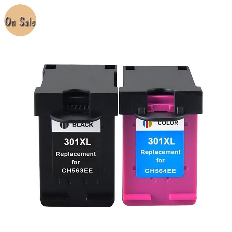 For HP 301XL black and color ink cartridge for HP301 For HP 301 XL Deskjet 1000/1050/1051/1055/2000/2050/3000/ 3050/3051 printer
