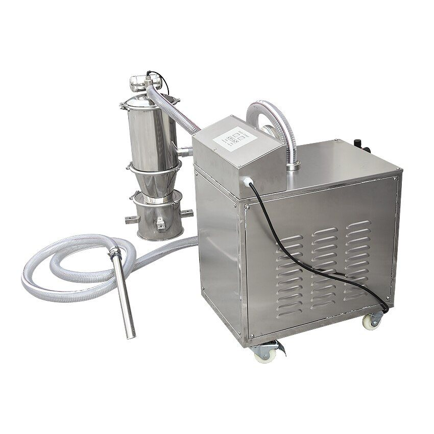 ZKS-1 Pneumatic Vacuum Feeding Machine Rotating Tablet Pressing Material Feeder 110V/220V