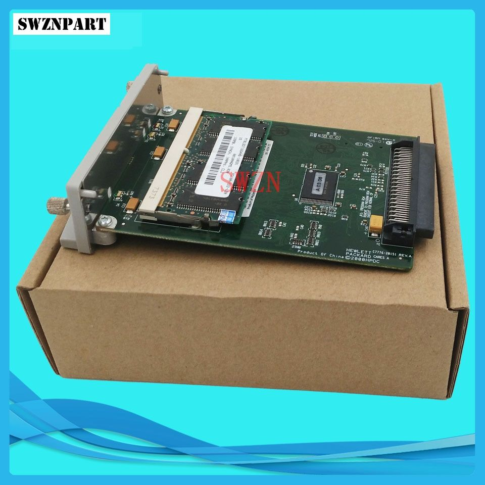 C7772A For HP Designjet 500 500plus GL2 Card Formatter Board Card +128M Fixes 05:09 05:10 ink plotter