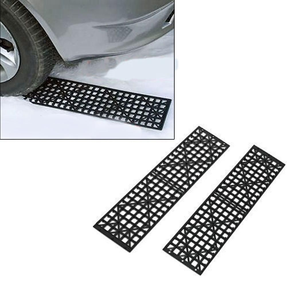 Car Professional Accessories 2PCS Car Off The Hook Plate Tire Skid Plate Self-Driving Off-Road Equipment Slide Anti Skid Carpet