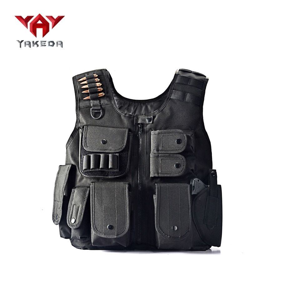 Law Enforcement Tactical SWAT Vest <font><b>Army</b></font> Fans Outdoor Vest Cs Game Vest,cs Field Vest Cosplay of Counter Strike Game