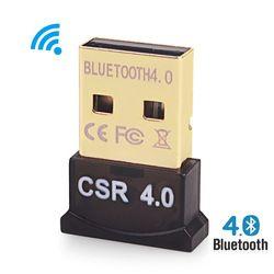 Ordinateur USB Bluetooth émetteur/dongle/adaptateur pour ordinateur portable de bureau PC connexion avec sans fil haut-parleur/clavier/souris/gamepad