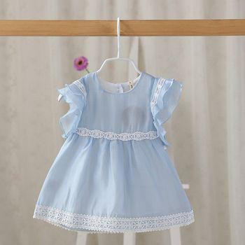 Vente chaude Marque Bébé Fille Robes Enfants D'été Robe Bébé Filles Princesse Robe Enfants Vêtements Infantile À Manches Courtes Robe