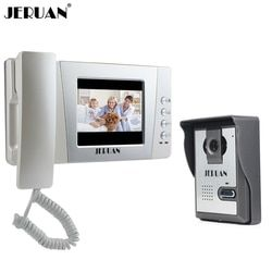 JERUAN Home Wired Cheap 4.3 inch LCD Color Video Door Phone DoorBell Intercom System IR Night vision Camera FREE SHIPPING