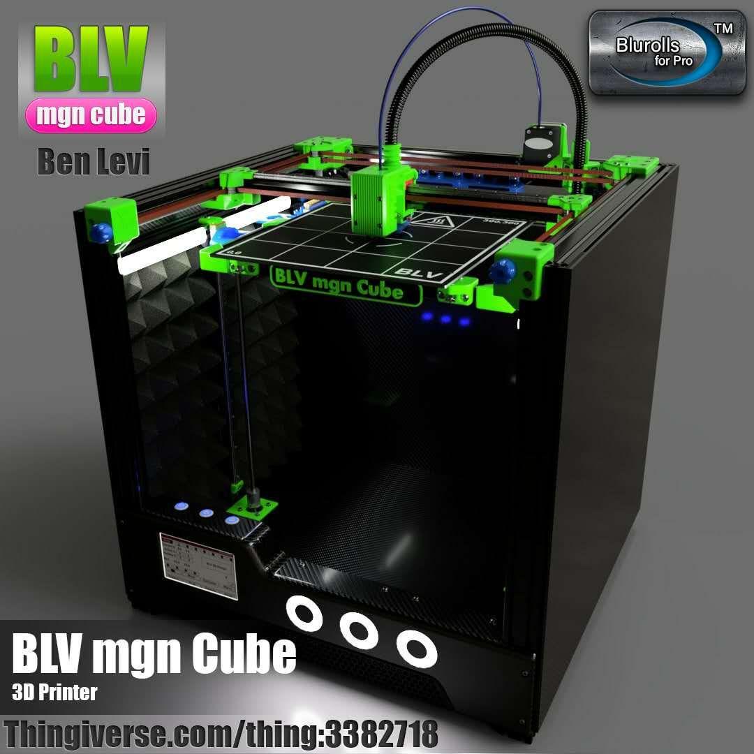 BLV MGN Cube 3d drucker full kit, keine einschließlich gedruckt teile 365mm/465mm/665mm Z achse höhe blv 3d drucker kit