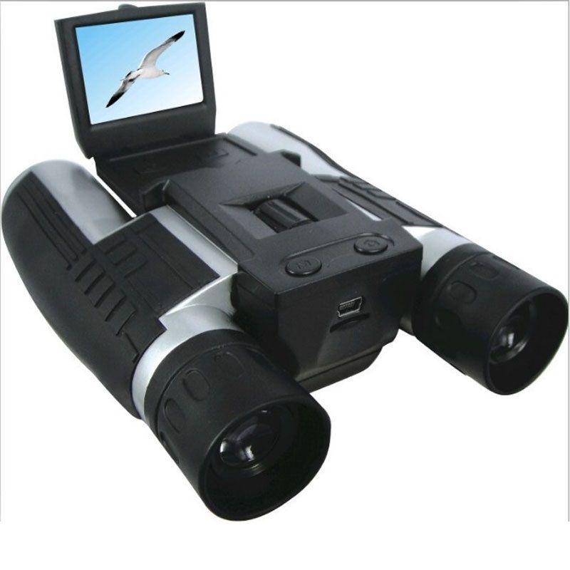 Télescope binoculaire professionnel 12x32 HD DH 1080P caméscope numérique 2.0 ''TFT CMOS 5MP télescope caméra vidéo FS608R