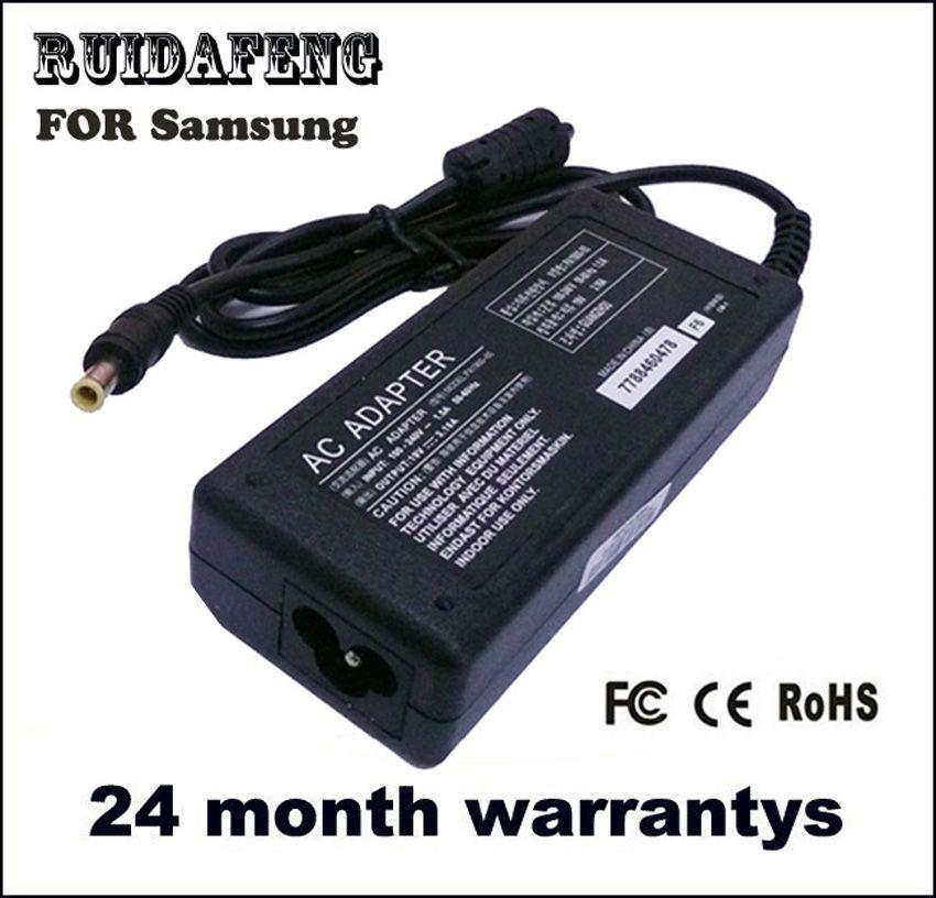 Pour Samsung 19 v 3.16a 60 w Q330 R540 RV510 RV511 adaptateur pour ordinateur portable Chargeur D'alimentation