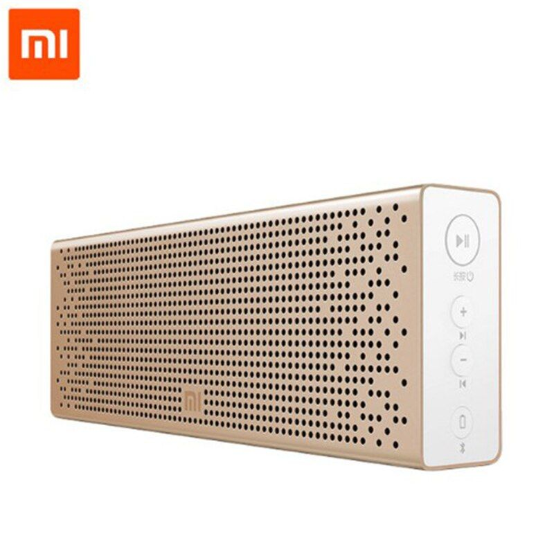 Xiaomi Bluetooth Speaker Micro-SD Aux-in Microphone Handsfree Call Portable Music Box Bluetooth Aluminum Frame