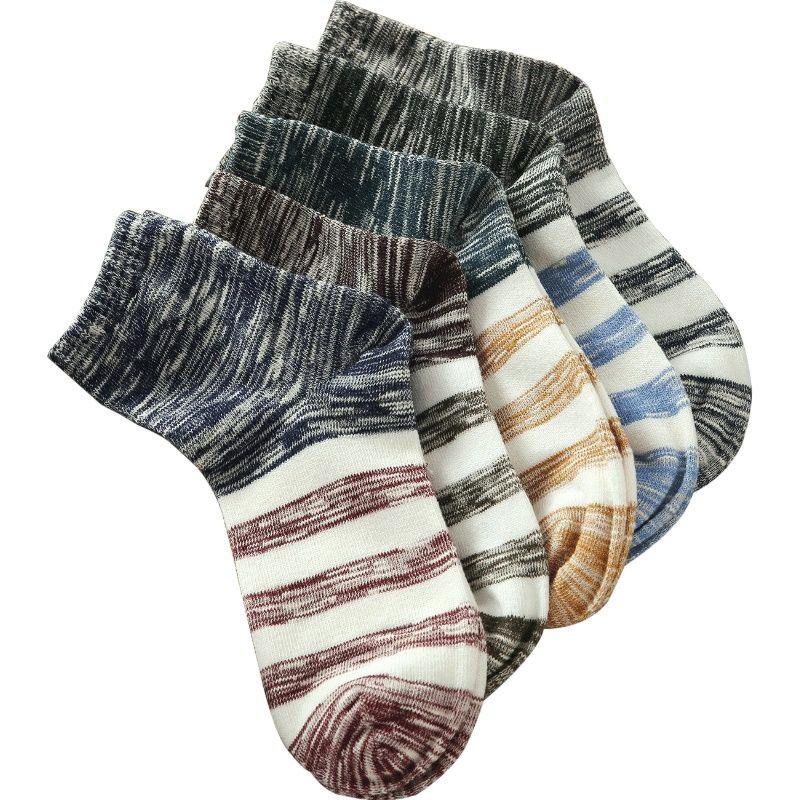Calcetines de los hombres de largo A63 fleece otoño invierno calcetines de algodón de primavera 4 estaciones