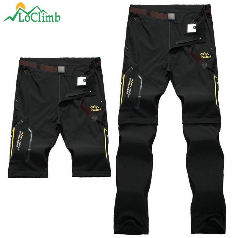 LoClimb Men Women Stretch Waterproof Camping Hiking Pants Outdoor Sport Trousers Trekking <font><b>Mountain</b></font> Climbing Fishing Pants,AM051