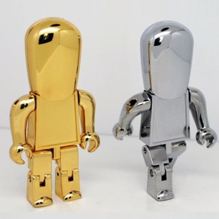 High Speed 16GB 32GB 64GB Usb Flash Drive 3.0 Metal Robot Pendrive 512GB Pendrives Memory Card Stick Disk On Key 128GB Gift