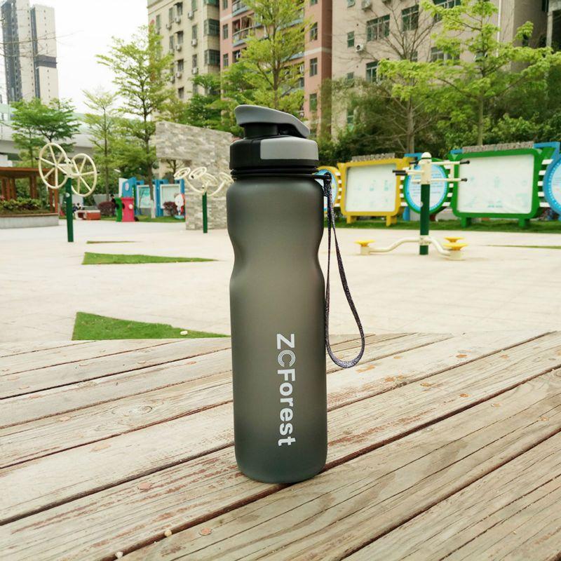 Tritan Sports bouteille d'eau 1000ml sans BPA ma bouteille avec infuseur à thé Portable en plastique pour boisson en plein air vélo vélo ZCForest