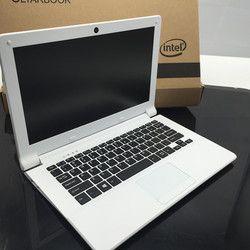 11.6 pouces PC portable ordinateur Dans-tel Z3735F Windows 10 Quad core 2 GB 32 GB SSD caméra tablet portable Ultrabook bluetooth