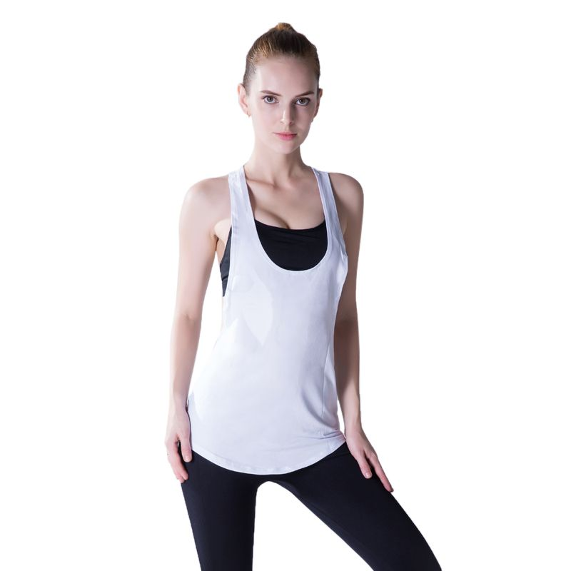 Vertvie Tank Top Women Fitness Sports Yoga Shirts Sleeveless Vest Running Gym Sports Top Quick Dry Athleisure Clothes T-shirt