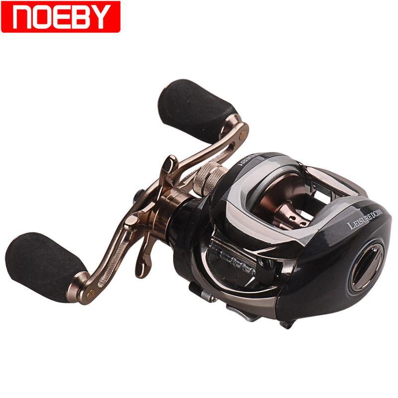 2017 New NOEBY Baitcasting Fishing Reel 6.3:1/11BB Steering-Wheel Carretes De Pescar Peche A La Mouche Casting Reel Carp Fishing