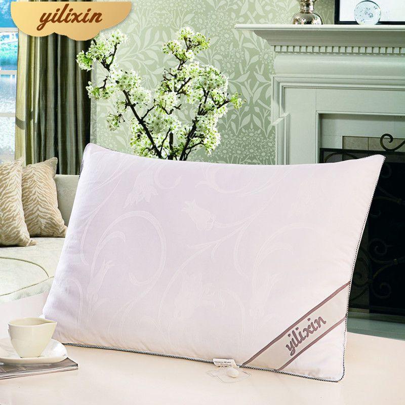 YILIXIN Moscou Envoyé De Haute Qualité Confortable de Couchage Oreillers Pour Cadeaux De Mariage Vente Chaude Luxueux Doux Coton Mode Oreillers