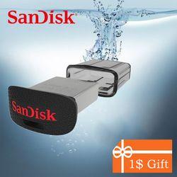 SanDisk FIT USB 3.0 3.1 Flash Drive 128 GB 64 GB 32 GB 16 GB 150MBS Bultra Pen Drive USB 3.0 U Disque Clé Usb Flashdisk pour ordinateur