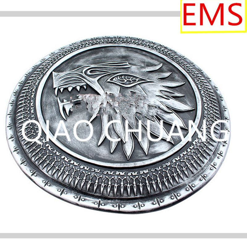The Song Of Ice And Fire Game Shield Medieval Decoration 1:1 Cosplay Props Colophony Crafts Collection Model Toy G886