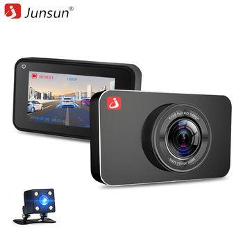 Junsun H9 супер Ночное видение Видеорегистраторы для автомобилей Камера ADAS/LDWS FHD 1296 P/1080 P 3