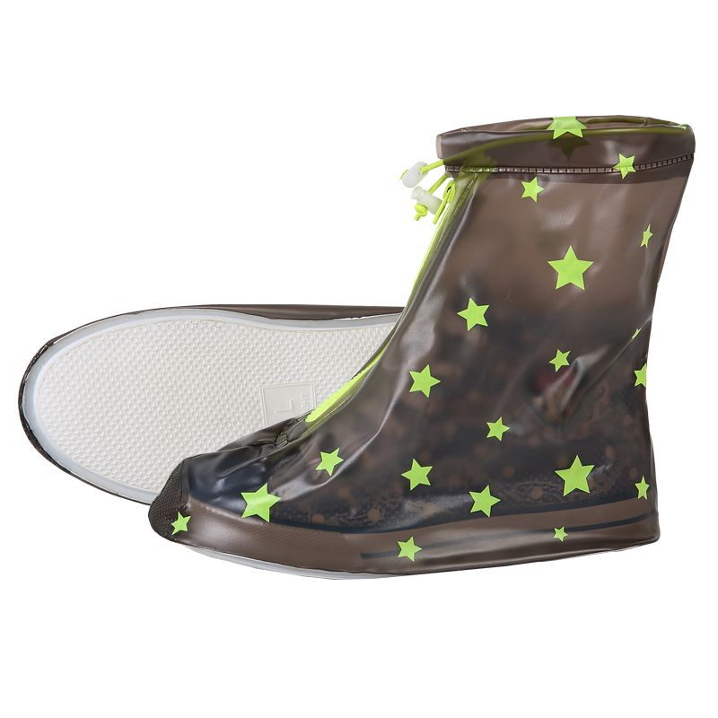 Yuding Children Non-slip Rain Covers Kids Waterproof Raincoat Outdoor Travel Wellies
