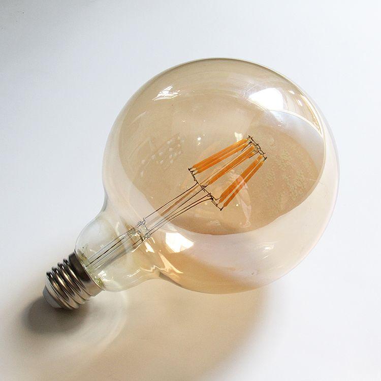 Grensk G125 LED Ampoule 8 W 2200 k teinte or Vintage LED Filament Ampoule E26 E27 Base 110 V 220VAC Dimmable Globe lampe Ampoule LED