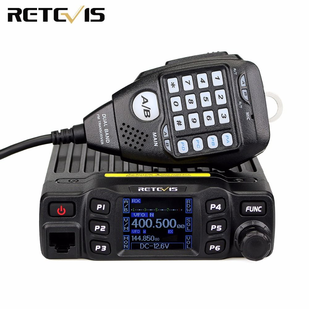 Retevis RT95 Mobile Autoradio Double Bande VHF 144-148 MHz UHF 430 ~ 440 MHz 200 Canaux A9129