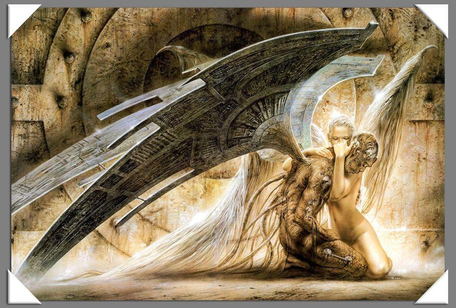 Испания Luis royo Fantasy арт Картина маслом HD холст полиграфии жикле украшения дома фрески праздник подарок без рамки
